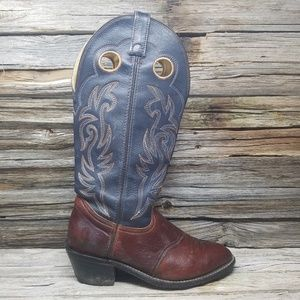 Double H Cowboy Western Boots Mens Double Wide EE